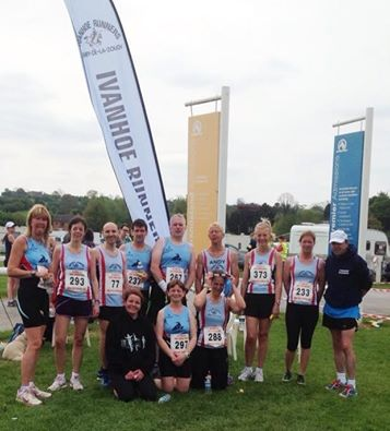Some of the Ivanhoe finishers - big thanks to Angela Wheeler for the support and photo!